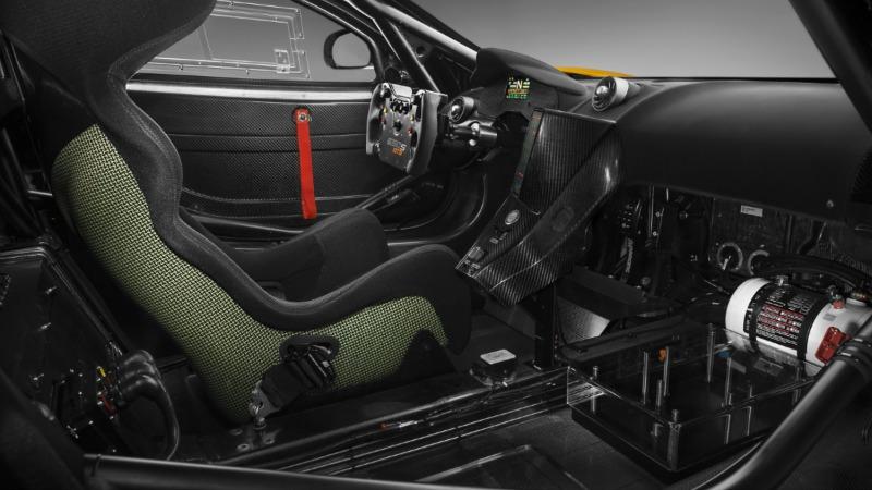 Interior McLaren 650S GT3