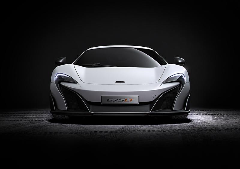 Foto delantera McLaren 670LT