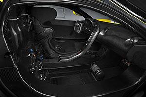 galeria de fotos mclaren P1-GTR 2015 - interiores