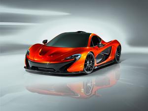 McLaren P1 en el Sal�n del Autom�vil de Par�s 2012