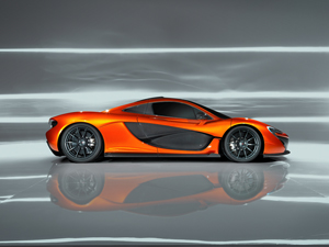 Foto Lateral Mclaren P1 Cupe 2012