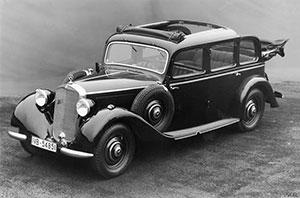 Foto Delantera Mercedes 260 Dos Volumenes 1936