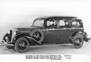 Foto Exteriores (2) Mercedes 260 Dos Volumenes 1936