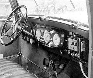 Foto Salpicadero Mercedes 260 Dos Volumenes 1936