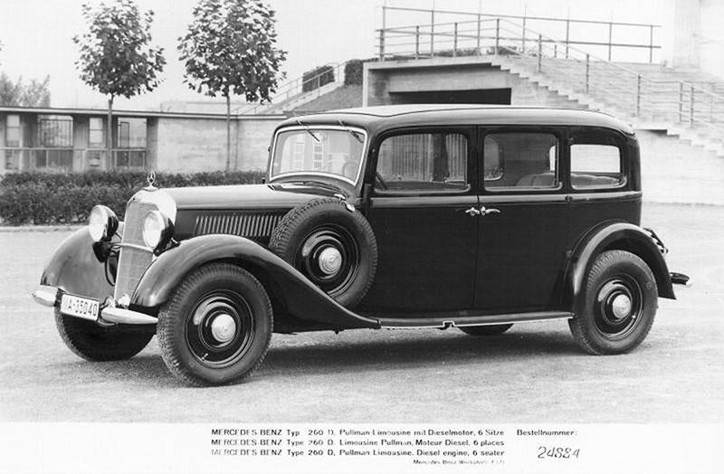 Foto Exteriores (1) Mercedes 260 Dos Volumenes 1936