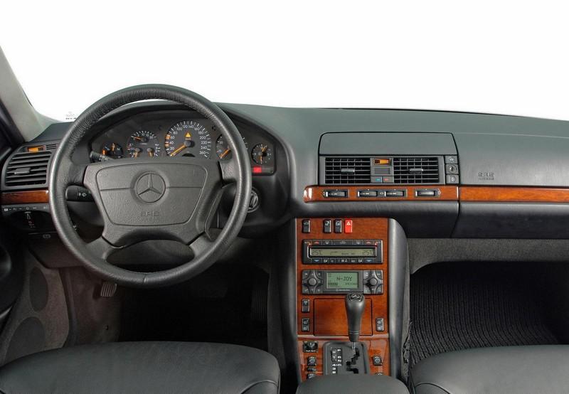 Mercedes benz clase s historia y antecedentes 4 de 7 for Interior clase a