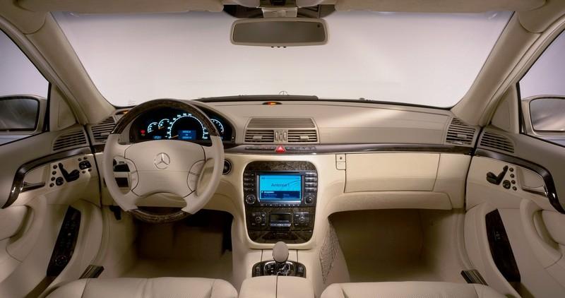 Mercedes benz clase s historia y antecedentes 5 de 7 for Interior clase a