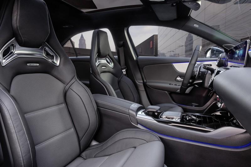 Foto Interiores Mercedes A 35 Amg 4 Matic Sedan 2019