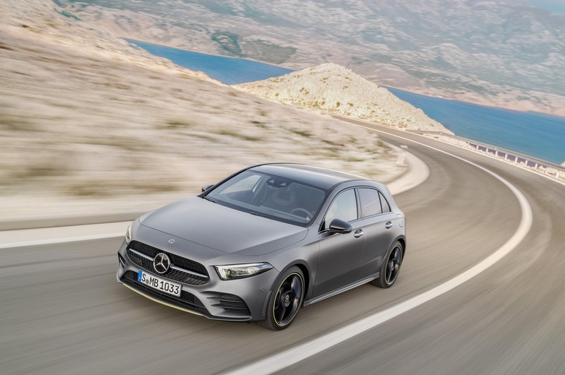 Foto Delantera Mercedes A Class Dos Volumenes 2018
