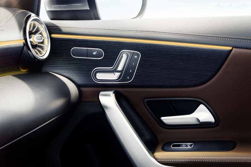 Mercedes Clase A 2018, foto detalle interior