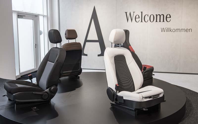 Mercedes Clase A 2018, foto asientos