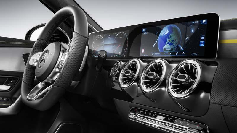 Mercedes Clase A 2018, foto pantallas