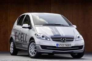 Mercedes-Benz Clase A E-CELL en el Salón de París 2010