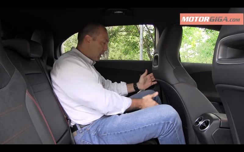 Foto Interiores 2 Mercedes A-class-prueba Dos Volumenes 2018