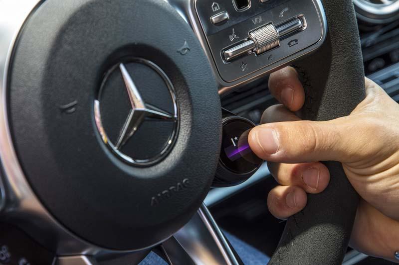 Mercedes AMG A 35 4Matic, foto volante