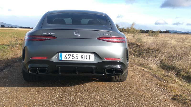 Foto Exteriores (12) Mercedes Amg-gt-4p Dos Volumenes 2019