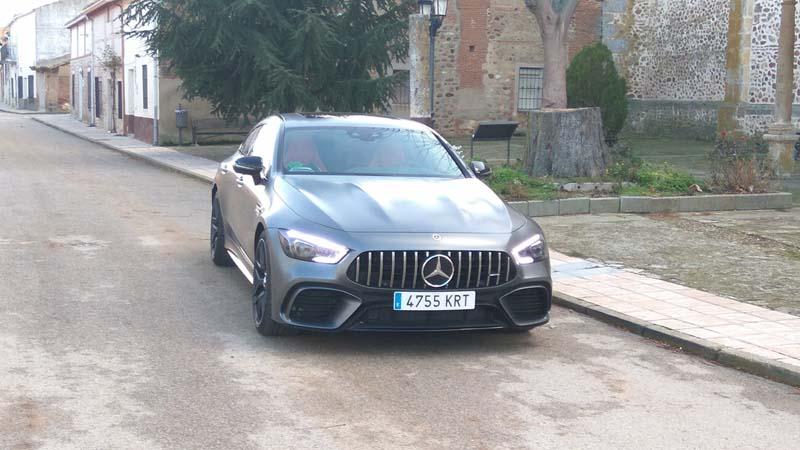 Foto Exteriores (4) Mercedes Amg-gt-4p Dos Volumenes 2019