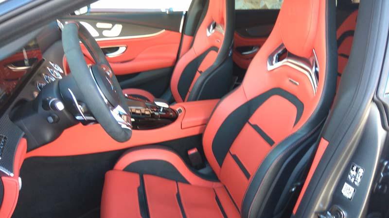 Mercedes AMG GT 4p 63 S 4Matic+, foto butacas delanteras