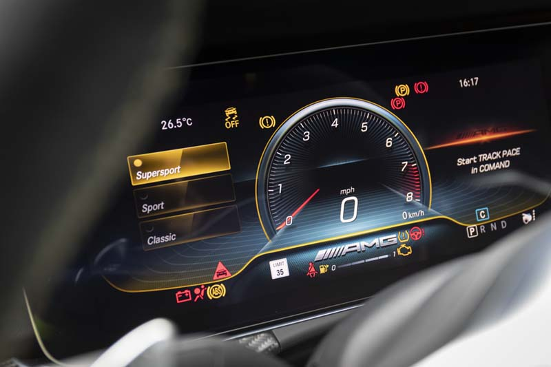 Mercedes AMG GT 4p 63 S 4Matic+, foto cuadro