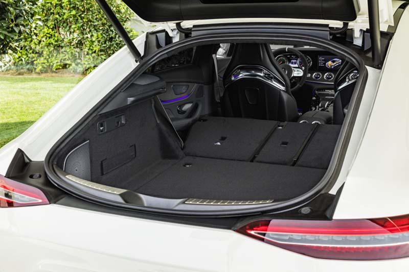Mercedes AMG GT 4p 63 S 4Matic+, foto maletero