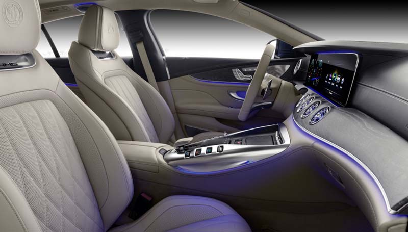 Foto Interiores (2) Mercedes Amg-gt-4p Dos Volumenes 2019