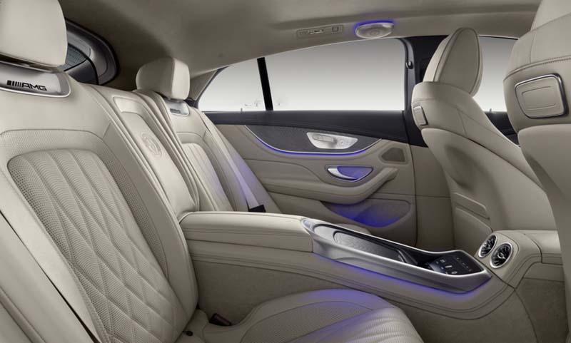 Foto Interiores (3) Mercedes Amg-gt-4p Dos Volumenes 2019
