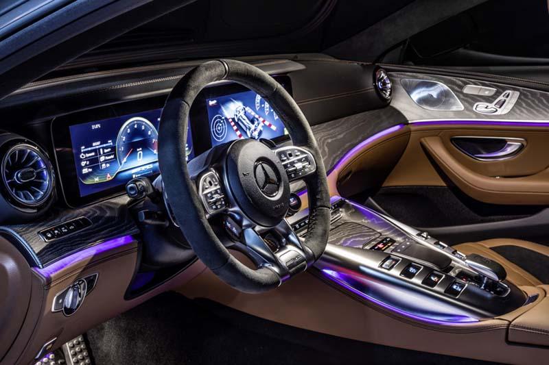 Foto Interiores (4) Mercedes Amg-gt-4p Dos Volumenes 2019