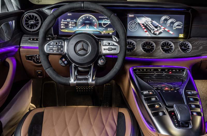 Foto Interiores (6) Mercedes Amg-gt-4p Dos Volumenes 2019
