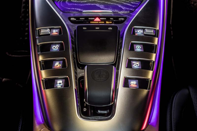 Foto Interiores (7) Mercedes Amg-gt-4p Dos Volumenes 2019