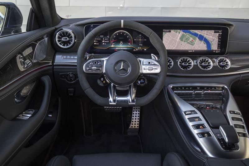Mercedes AMG GT 4p 63 S 4Matic+, foto salpicadero