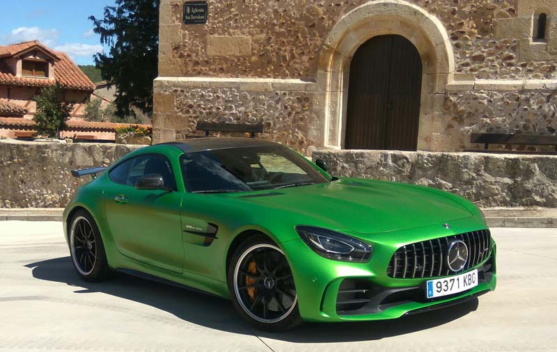 Foto Exteriores Mercedes Amg Gt R Cupe 2017