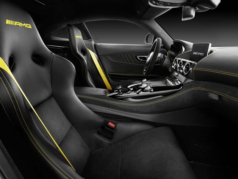 Mercedes-AMG GT R, foto asientos