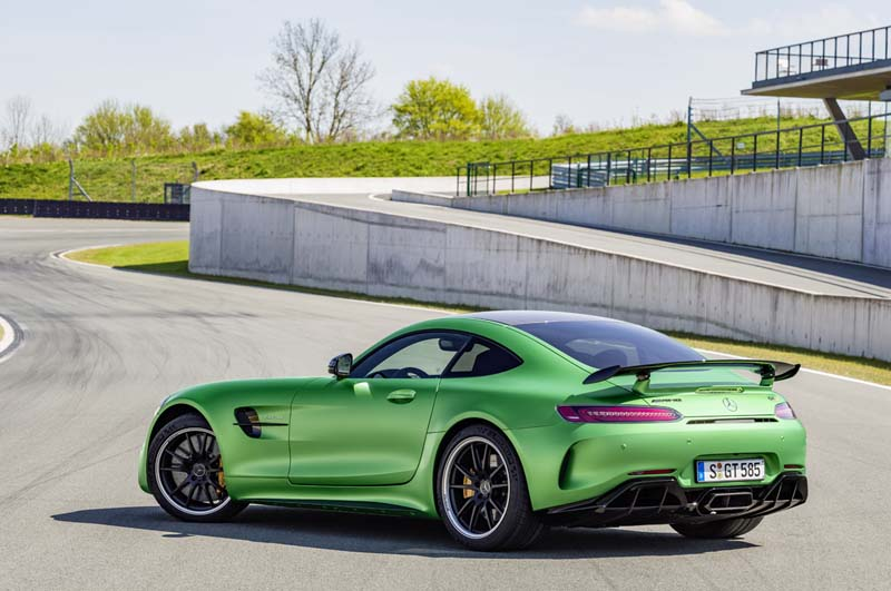 Foto Trasera Mercedes Amg Gt R Cupe 2017