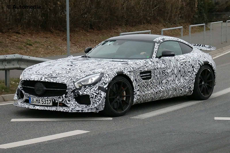 Foto Exteriores Camuflaje Mercedes Amg Gt R Render Cupe 2016