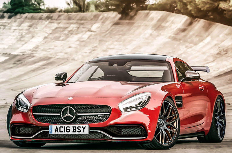 Foto Exteriores Render Mercedes Amg Gt R Render Cupe 2016
