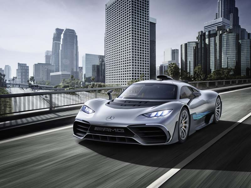 Mercedes-AMG Project ONE, foto delantera