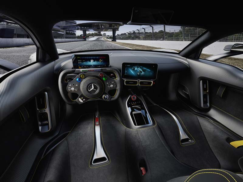 Mercedes-AMG Proyect ONE, foto salpicadero
