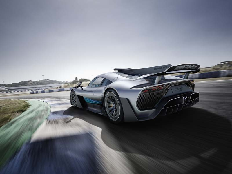 Mercedes-AMG Proyect ONE, foto trasera