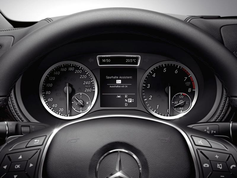 Foto Detalles29 Mercedes B Class Monovolumen 2011