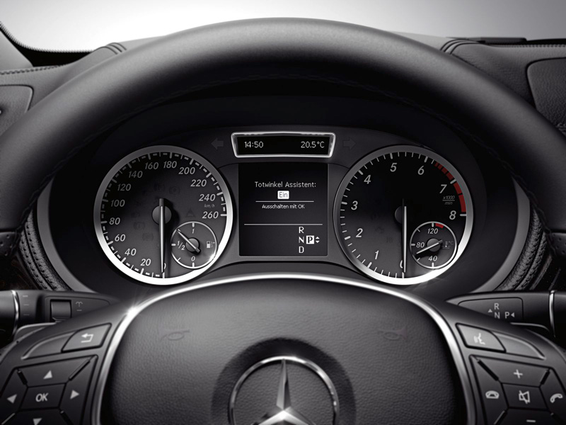 Foto Detalles30 Mercedes B Class Monovolumen 2011