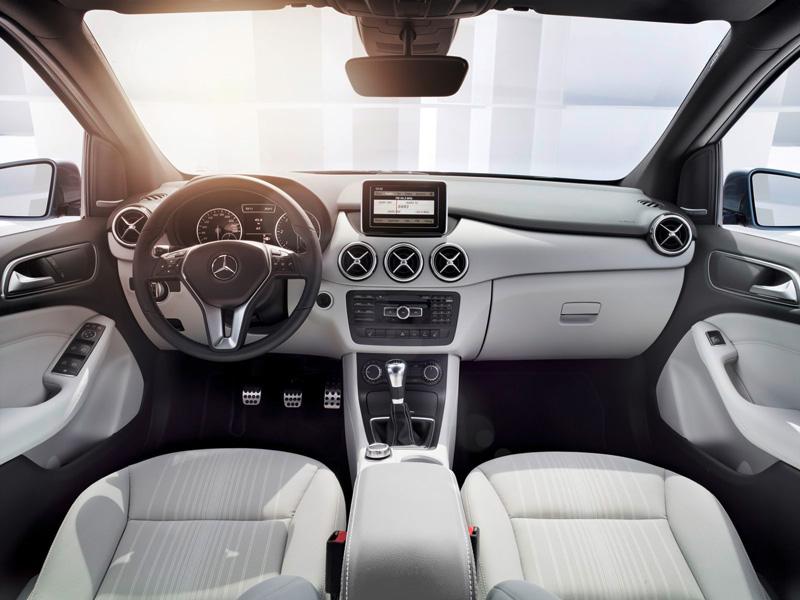 Foto Interiores01 Mercedes B Class Monovolumen 2011