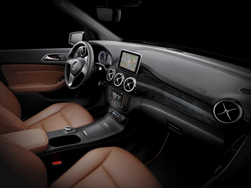 Foto Interiores04 Mercedes B Class Monovolumen 2011