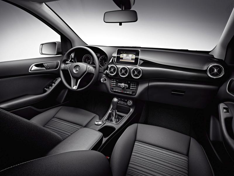 Foto Interiores08 Mercedes B Class Monovolumen 2011