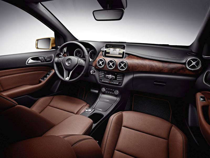 Foto Interiores09 Mercedes B Class Monovolumen 2011