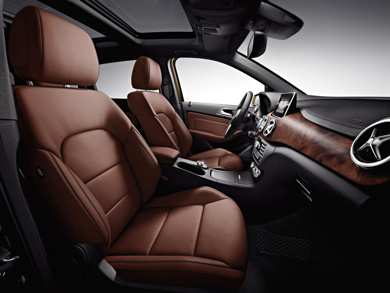 Foto Interiores10 Mercedes B Class Monovolumen 2011