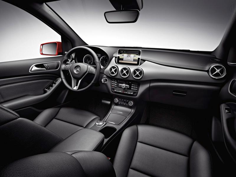 Foto Interiores13 Mercedes B Class Monovolumen 2011