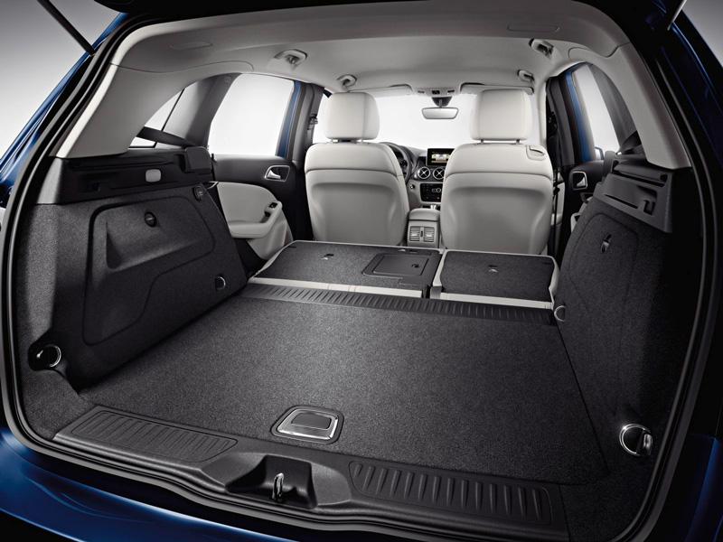 Foto Interiores18 Mercedes B Class Monovolumen 2011