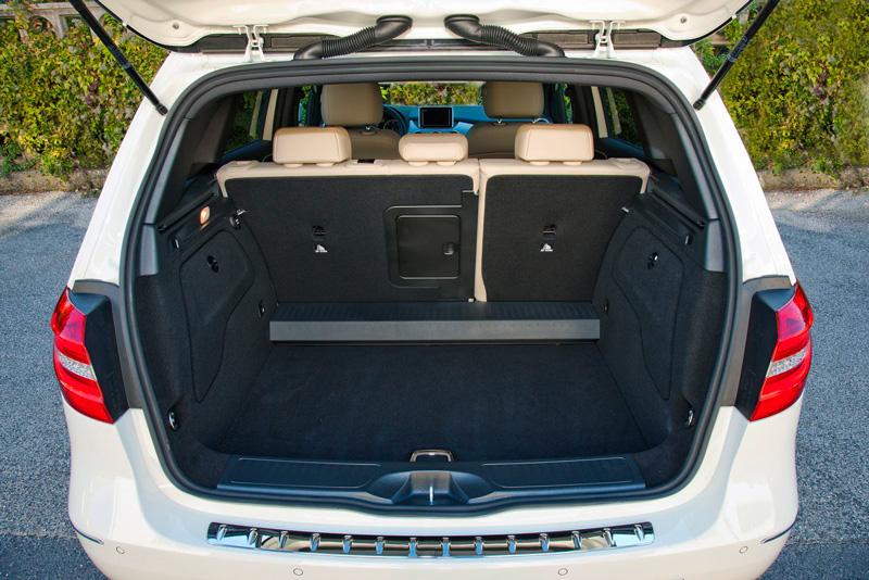 Foto Interiores26 Mercedes B Class Monovolumen 2011