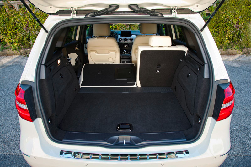 Foto Interiores28 Mercedes B Class Monovolumen 2011