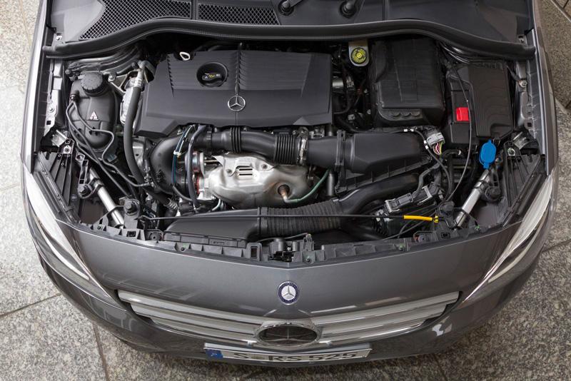 Foto Tecnicas05 Mercedes B Class Monovolumen 2011